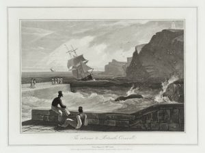 The Entrance to Portreath, Cornwall null William Daniell 1769-1837 Presented by Tate Gallery Publications 1979 http://www.tate.org.uk/art/work/T02723