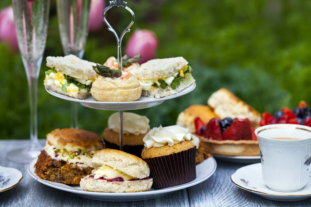 Afternoon tea at the Great Estate Festival