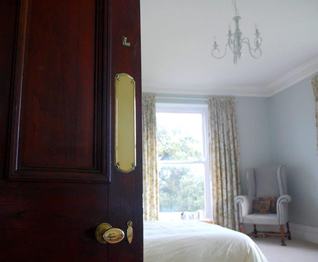 Scorrier House bedroom