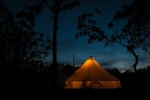 Scorrier estate camping