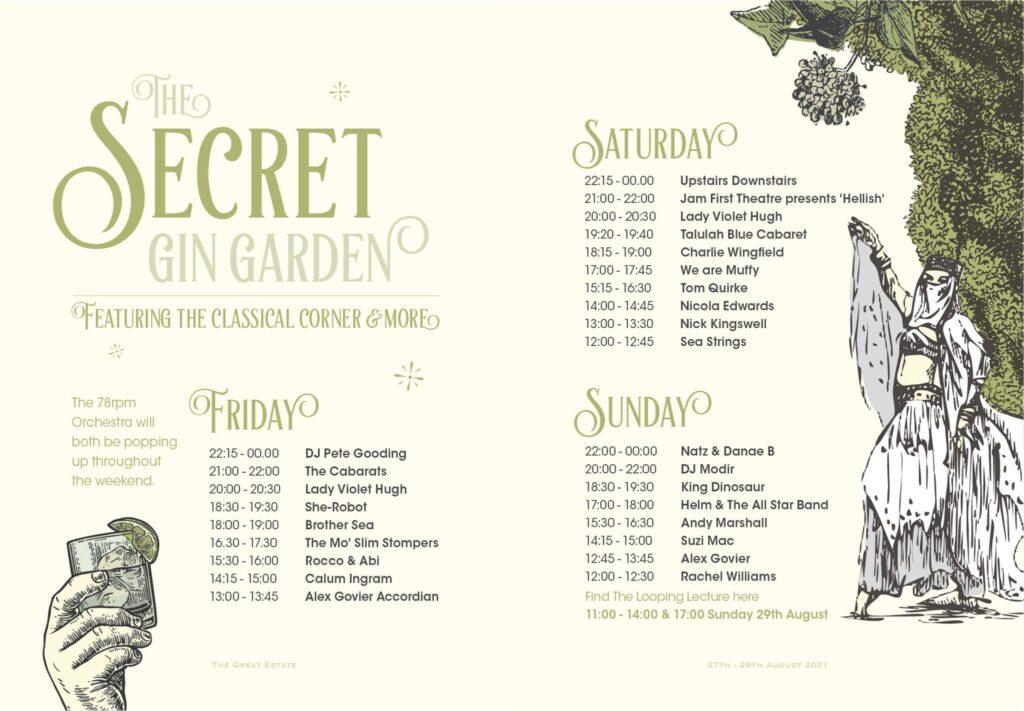 The Secret Gin Garden Scorrier House